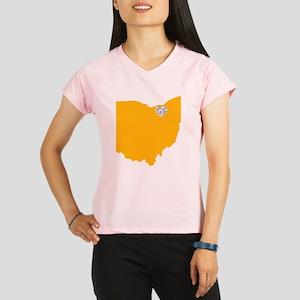 Ohio Cleveland Heart Performance Dry T-Shirt