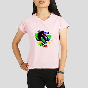 Graffiti Paint Splotches S Performance Dry T-Shirt