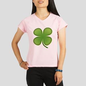 Lucky Irish Four Leaf Clover Performance Dry T-Shi