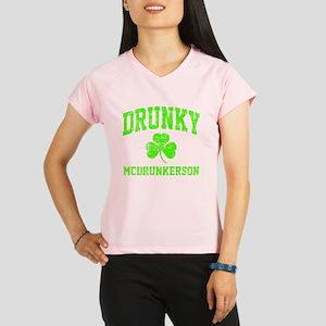 Green Drunky Performance Dry T-Shirt