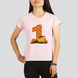Construction 1st Birthday Performance Dry T-Shirt
