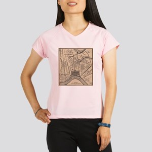 Vintage Map of New Orleans Performance Dry T-Shirt