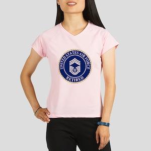 USAFRetiredChiefMasterSerg Performance Dry T-Shirt