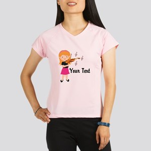 Personalized Violin Girl Performance Dry T-Shirt