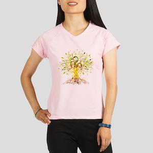 Tree Art Performance Dry T-Shirt