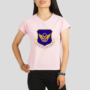 USAF-8th-AF-Shield-Bonnie Performance Dry T-Shirt