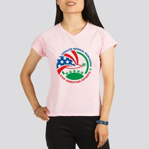 Legalize-Marijuana-Stop-Ar Performance Dry T-Shirt
