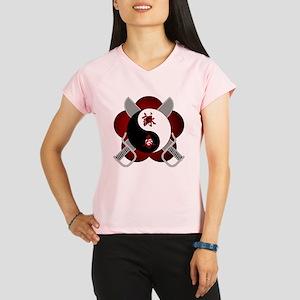 wc-yin-yang-swords Performance Dry T-Shirt