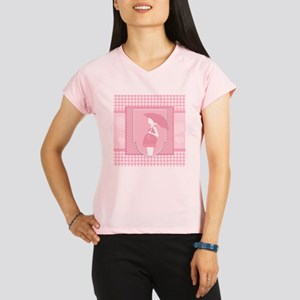 pink pregnancy Performance Dry T-Shirt