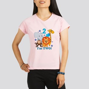baby2JungleAnimals Performance Dry T-Shirt