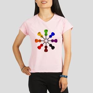 Circle of Violins Performance Dry T-Shirt