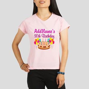 FABULOUS 30TH Performance Dry T-Shirt