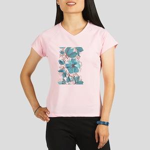 Pretty Floral Performance Dry T-Shirt