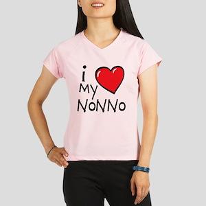 I Love My Nonno Performance Dry T-Shirt