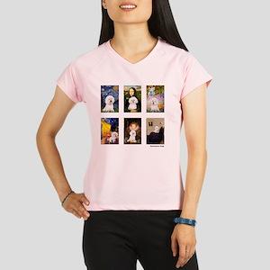 FamousArt-BichonFrise-CLEA Performance Dry T-Shirt