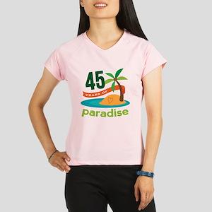 45th Anniversary (tropical) Performance Dry T-Shir