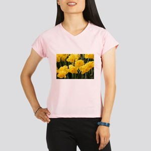 Daffodil flowers in bloom Peformance Dry T-Shirt
