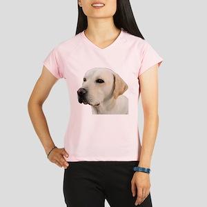 Yellow Lab Head Performance Dry T-Shirt