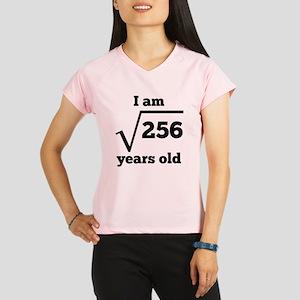 16th Birthday Square Root Performance Dry T-Shirt