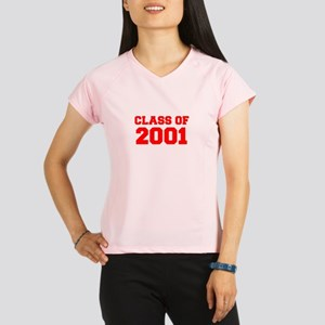 CLASS OF 2001-Fre red 300 Performance Dry T-Shirt