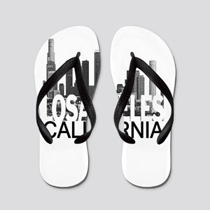 Los Angeles Skyline Flip Flops