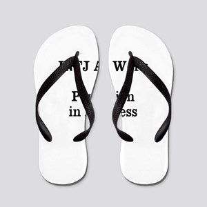 INFJ At Work Flip Flops