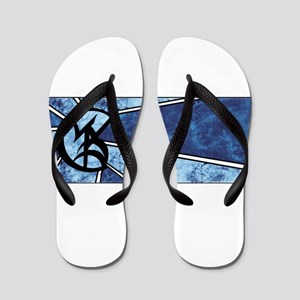 Wedded Union Blue - Flip Flops