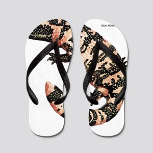 Gila Monster Lizard Flip Flops