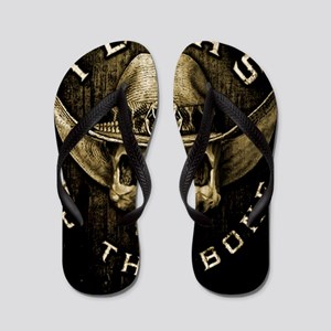 Texas to the bone Flip Flops