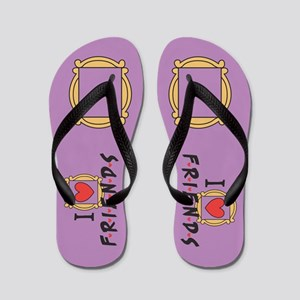 Friends TV Show Flip Flops