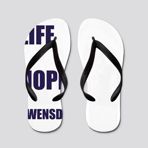 Gwensday Wednesday Flip Flops