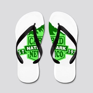 Carlsbad Caverns - New Mexico Flip Flops