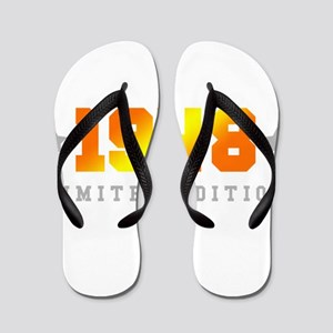 Limited Edition 1948 Birthday Flip Flops