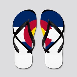 Love Colorado Flip Flops