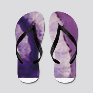layer of purple goodness Flip Flops