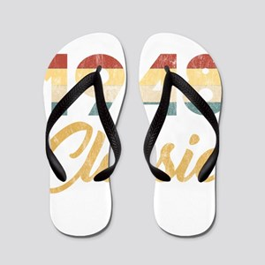71st Birthday Gift for Men And Women 19 Flip Flops