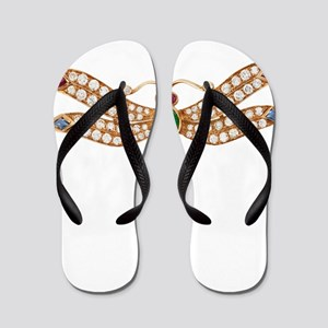 BULGARI_DIAMOND_DRAGONFLY_10BY10_TRANSP Flip Flops