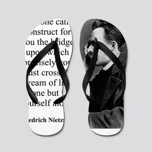 No One Can Construct For You - Nietzsche Flip Flop