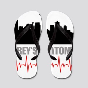 Grey's Anatomy Seatle Flip Flops