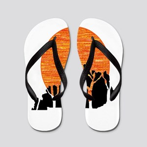 SHINE ON KENTUCKY Flip Flops