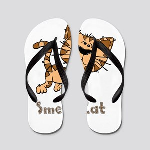 Friends Smelly Cat Flip Flops