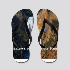 Yellowstone National Park Flip Flops
