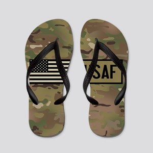 U.S. Air Force: USAF (Camo) Flip Flops