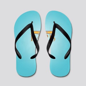 Team Paris Flip Flops