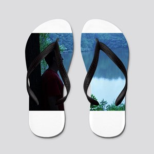 Soul Searching Reflections Flip Flops