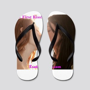 That First Kiss Flip Flops