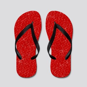 Wizard of Oz Ruby Red Flip Flops