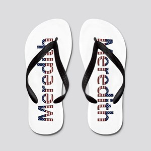 Meredith Stars and Stripes Flip Flops