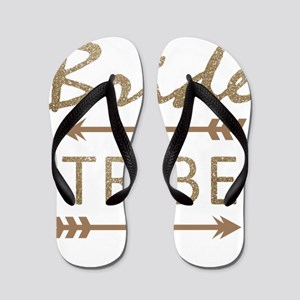tribal arrow bride tribe Flip Flops