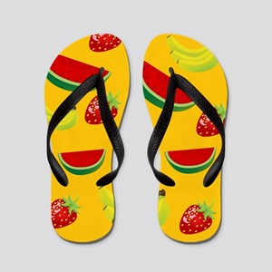 Fruit Salad Flip Flops